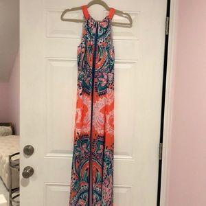 Lilly Pulitzer NWT hollyn maxi dress current